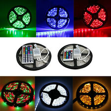 Waterproof 3528 LED Strip Light RGB/Warm/Cool White SMD Flexible light Lamp & IR