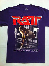 Ratt - Invasion Of Your Privacy Purple Color Tour '85 T-shirt  (S-XXL)