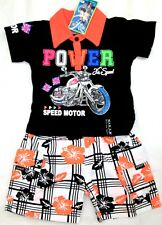 Boys T.Shirt & Shorts sets,Cotton Short Sleeve T.Shirt/Shorts Pants,2 4 6 8 10yr