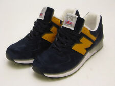 NEW BALANCE MADE IN THE UK M576PBY NAVY/YELLOW