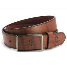 Hot 4 Colors Fashion Men's Casual Faux Leather Metal Buckle Belt 110CM PYP004