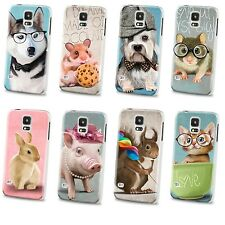 Cool Animals Slim Matte Bottom hard Cover Case For Samsung Galaxy i9600 S5