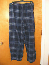 NEW MENS JOE BOXER BLUE PLAID FLANNEL PAJAMA PANTS  3X  4X