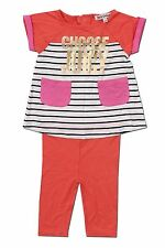 """Juicy Couture Kids Baby Girl Knit Set """"Choose Juicy"""" Sizes 3-6 to 18-24 Months"""