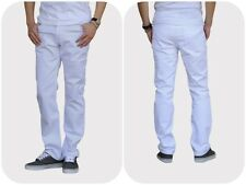 Snow White Slim straight fit Jeans for Men. Made in USA. Highest quality,