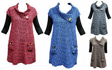 NEW Quelque by FILO Textured Rose Pattern Layering Tunic SIZES 10 12 14 16 18 20