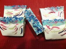 HANDMADE SPRING BLISS SOAP-DEEP RICH AROMA AND CREAMY LUSH LATHER