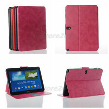 High Quality Folio Slim Magnetic PU Leather Case Smart Cover for Samsung & Apple