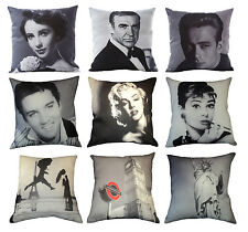 Vintage Photograph Design Cushion Covers Cases Lounge Chair Sofa Retro Pop Art