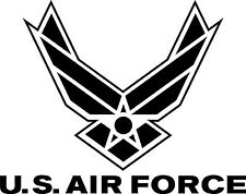 """US Air Force Reflective Decal 6""""x4.75"""" Car Sticker Various Colors FREE SHIPPING"""