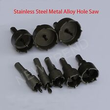 Stainless Steel Sheet Carbide Tipped High Speed Steel Metal Alloy Hole Saw Cutte