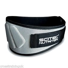 "SCITEC NUTRITION ""EXTRA SUPPORT"" WEIGHTLIFTING BELT CROSS TRAINING"