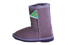 Genuine sheepskin Ladys Classic Short Ugg Boots Purple Colour  Australian Made