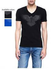 New Armani Exchange AX Mens Muscle/Slim Fit Burnout Eagle Tee Shirt