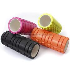 5 Color 34x14cm 13x5inch Pilates Fitness Foam Roller Massage Grid Trigger Point
