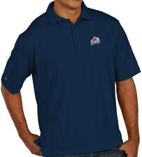 "Colorado Avalanche Antiqua NHL ""Pique"" Performance Polo Shirt - Navy"