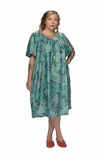 MuMu House Shifts Dresses Duster Floral Prints S M L XL 1X 2X 3X 4X 5X 6X Poly