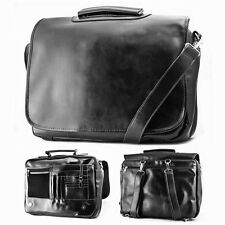 NEW Classic Vintage Men's Professional Briefcase Messenger Bag Backpack Leather