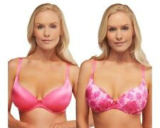 BARELY BREEZIES S/2 Sweetheart Neckline Comfort-Back Bras A235604