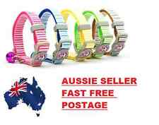 CAT COLLAR - with bell and quick release safety clip - Various Colours