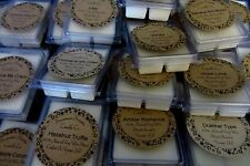 100% Handmade Soy Wax Natural Homemade Handpoured Tarts 6-Cube Breakaway Melts