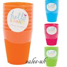 CHILDREN KIDS PLASTIC TUMBLER CUP MUG HOME TRAVEL CAMPING PICNIC FUN BBQ PARTY