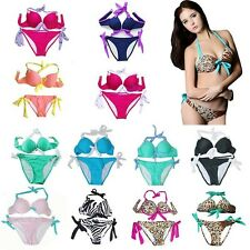 New Girl's Lot Bikini SET Push-up Padded Bra Swimsuit Bathing Suit Swimwear