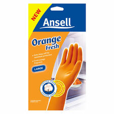 Ansell Orange Fresh- Small medium & large CLEANING GLOVES