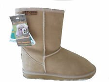 Australian Made Genuine Sheepskin Classic Short UGG Boots Beige Colour