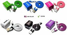 Bundle Wall Charger and Flat Micro USB Cable for Kindle 2 and Kindle Fire