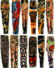 3D Art  Design Temporary Slip On Fake Tattoo Sleeves for arms and legs