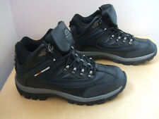 MENS LEATHER BLACK SAFETY WORK BOOTS HIKING GROUNDWORKS fab21