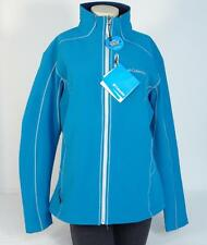 Columbia Blue Wind & Water Resistant Thermal Soft Shell Jacket Womans NWT