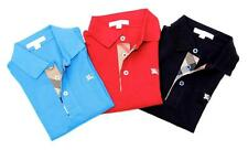 NEW Authentic BURBERRY BRIT Boys Polo Shirt T-Shirt Long Sleeve RETAIL PRICE $65