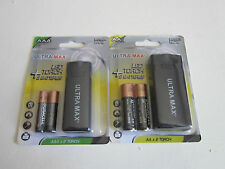 New Ultra Max Led torch + 2 AA / AAA Duracell Batteries