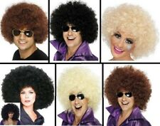 Unisex 70's Afro Wigs Hen Stag Party Festival Funky Wig Fancy Dress Club Wear