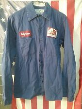 Navy Blue Red Kap Work Shirt - 100% Cotton - Many Sizes - Stock CC