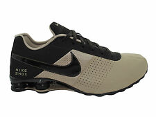 CLASSIC MENS NIKE SHOX DELIVER LEATHER RUNNING SHOES BAMBOO / VELVET BROWN