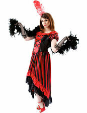Ladies Can Burlesque Show Moulin Rouge Saloon Fancy Dress Costume