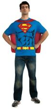 Superman T-Shirt Adult Mens Costume HALLOWEEN Superhero Licensed