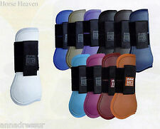 Horse Guard 'Accents' Tendon & Fetlock Protection ShowJumping Boots, 13 Colours