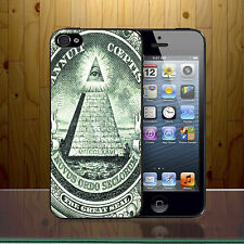 Novus Ordo Seclorum Iluminati Sign American One Dollar Eye Hard Phone Case Cover