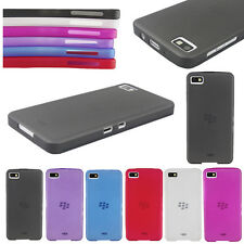 Ultra-thin Matte Back Skin Cover For BlackBerry Z10 PC Clear Case Guard Black