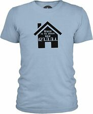 No Place Like Home (Black) Mens Combed Cotton T-Shirt