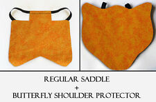 2 Orange Specks Chicken Saddle Hen Apron Chicken Wing Poultry Back Protector