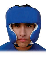 Woldorf Traditional Head Gear cowhide Leather Heavy Padded,Sparring MMA Headgear