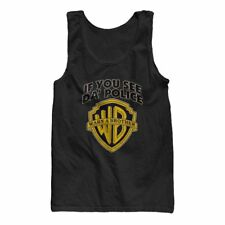 If you see da' police warn a brother - WB funny Tank Top New S-XL