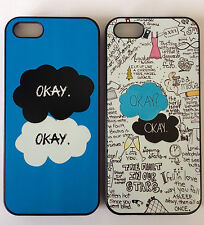 The Fault In Our Stars Okay John Green Case Cover For Phone iPhone 4/4S + 5/5S