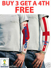England Et St George Tatouage Manches Drapeau Fifa Officiel Supporters De