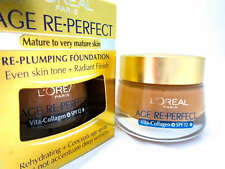 Loreal Age Re-Perfect Re-Plumping Foundation - Available in 4 Shades.